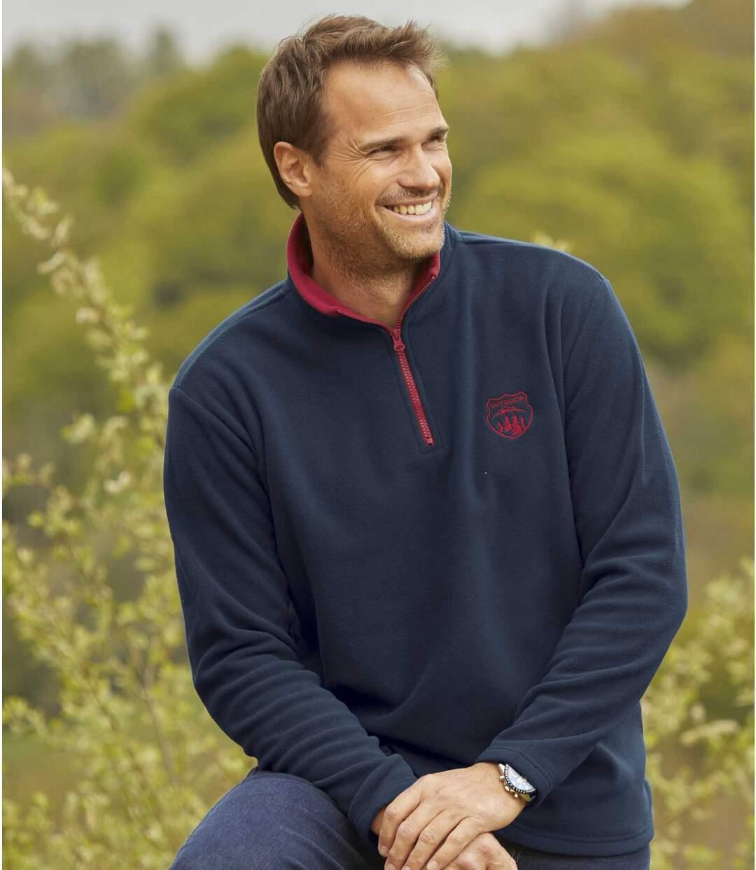 Outdoor sweater van microfleece  Atlas For Men