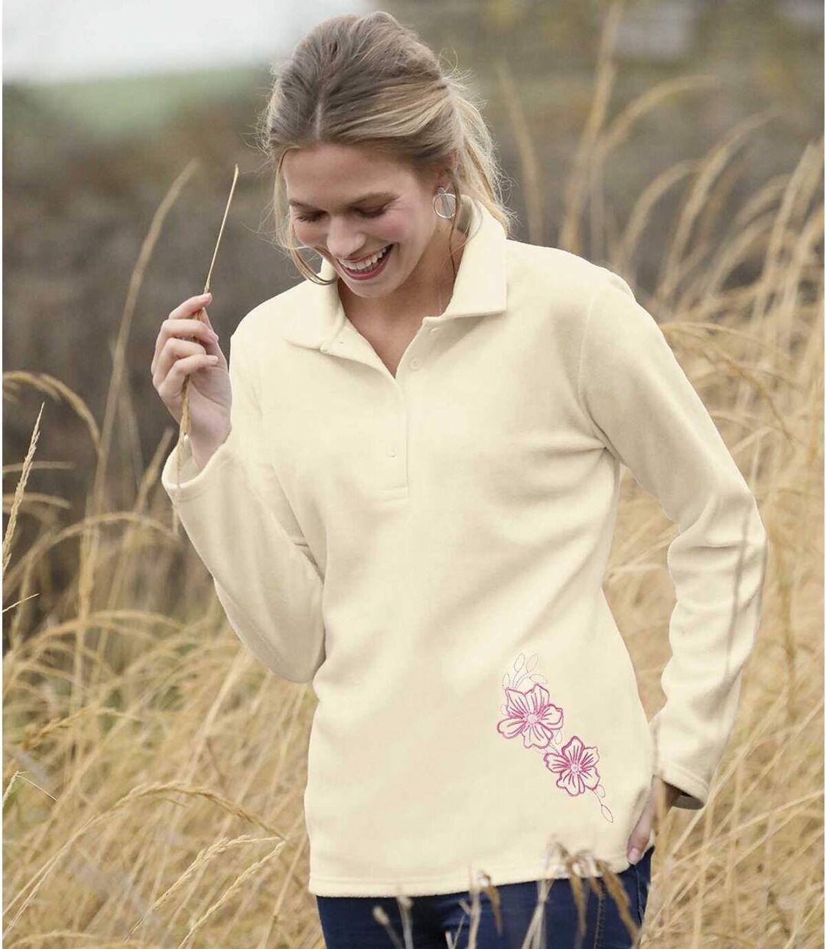 2er-Pack bestickte Poloshirts aus Microfleece Atlas For Men