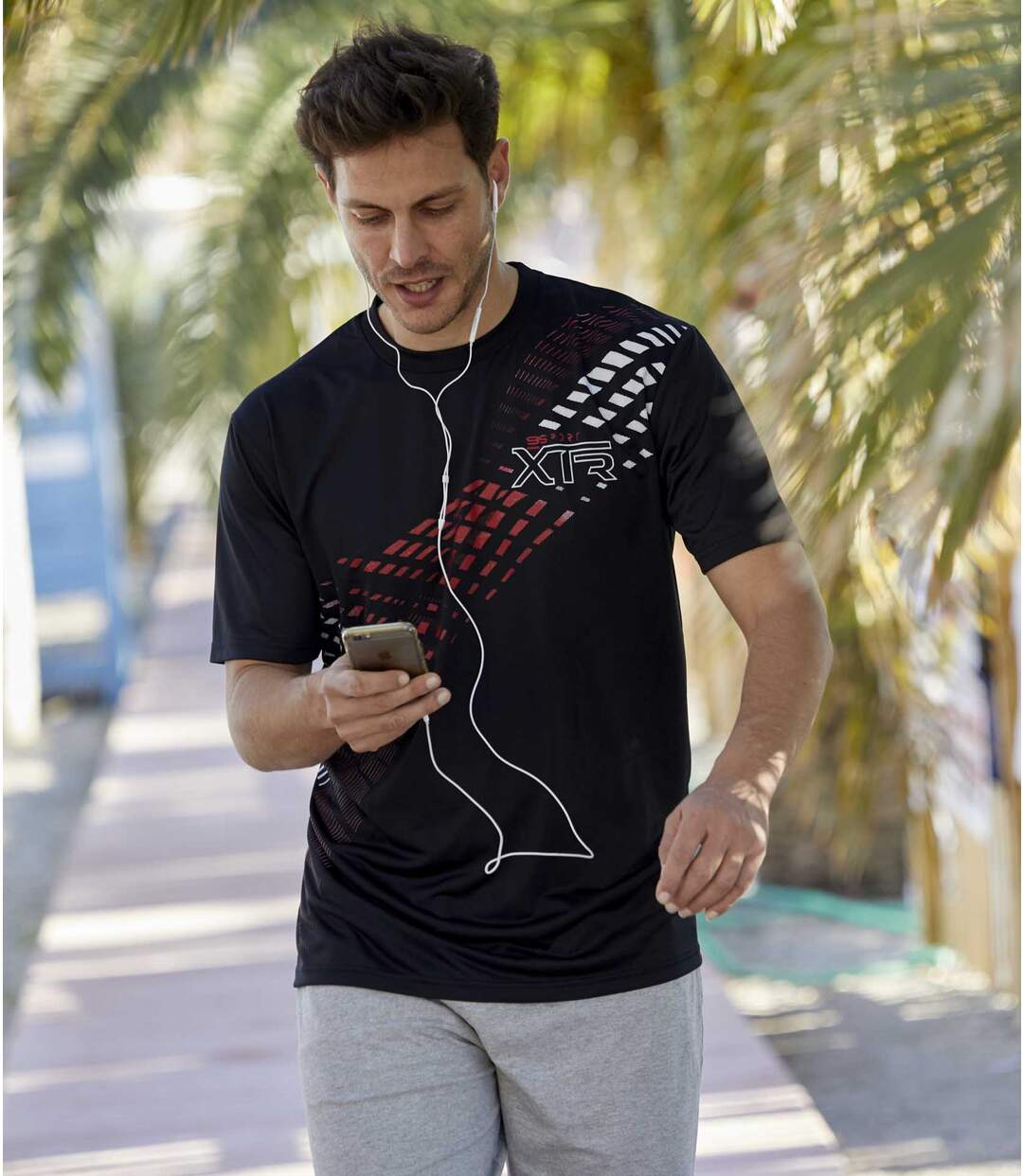 3er-Pack T-Shirts Sport