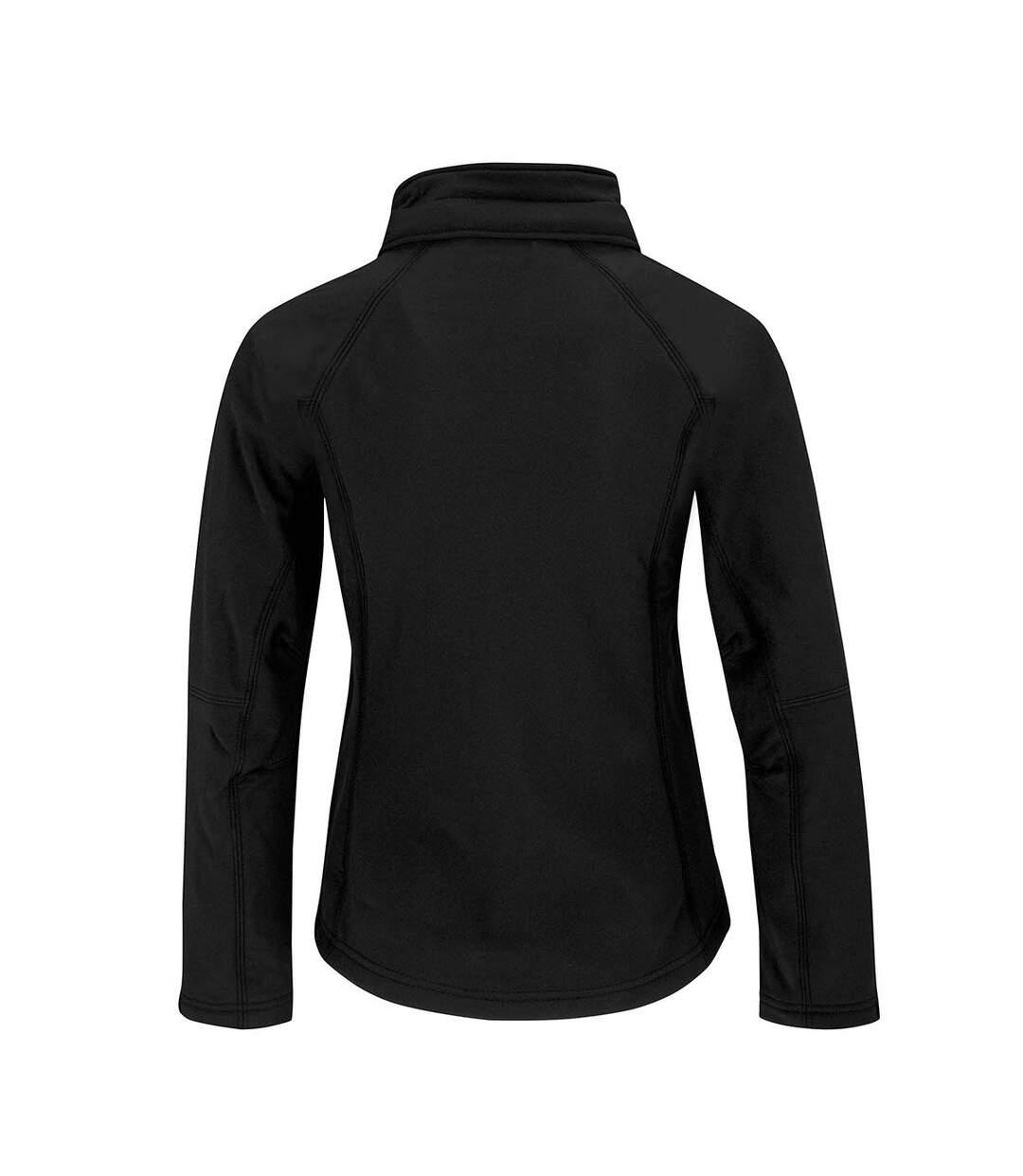 B&C Womens Hooded Premium Softshell Jacket (Windproof, Waterproof & Breathable) (White) - UTBC2004