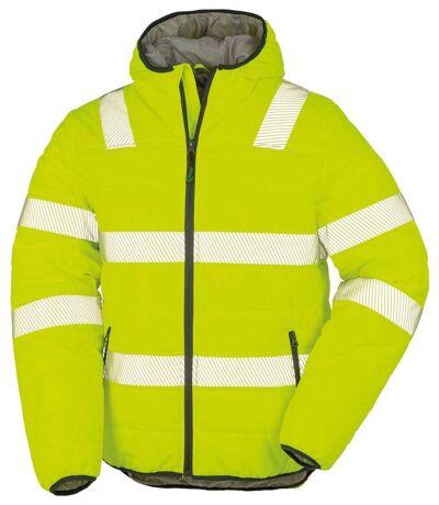 Veste matelassée - sécurité ECORESPONSABLE - R500X - jaune fluo