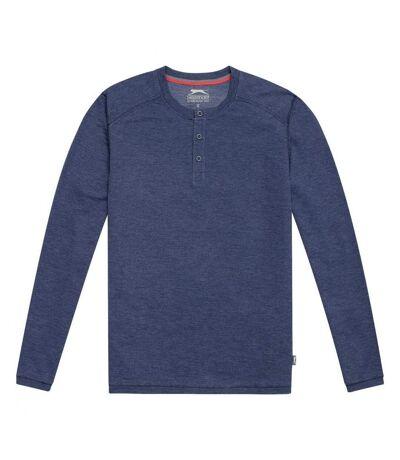 Slazenger Mens Touch Long Sleeve Shirt (Heather Blue) - UTPF1764