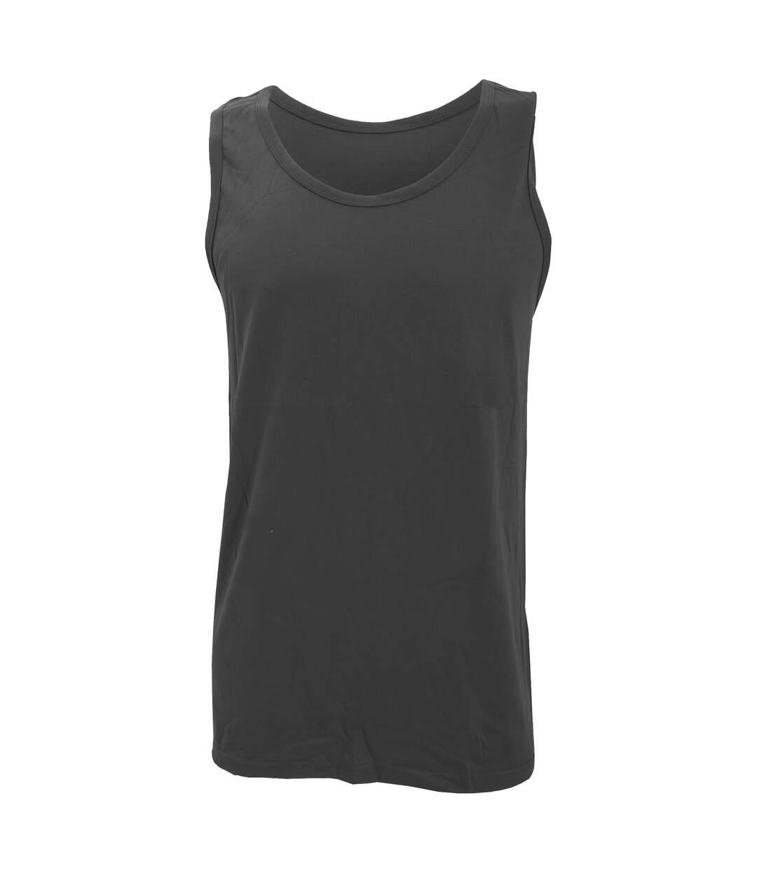 Gildan Mens Softstyle® Tank Vest Top (Charcoal) - UTRW3171