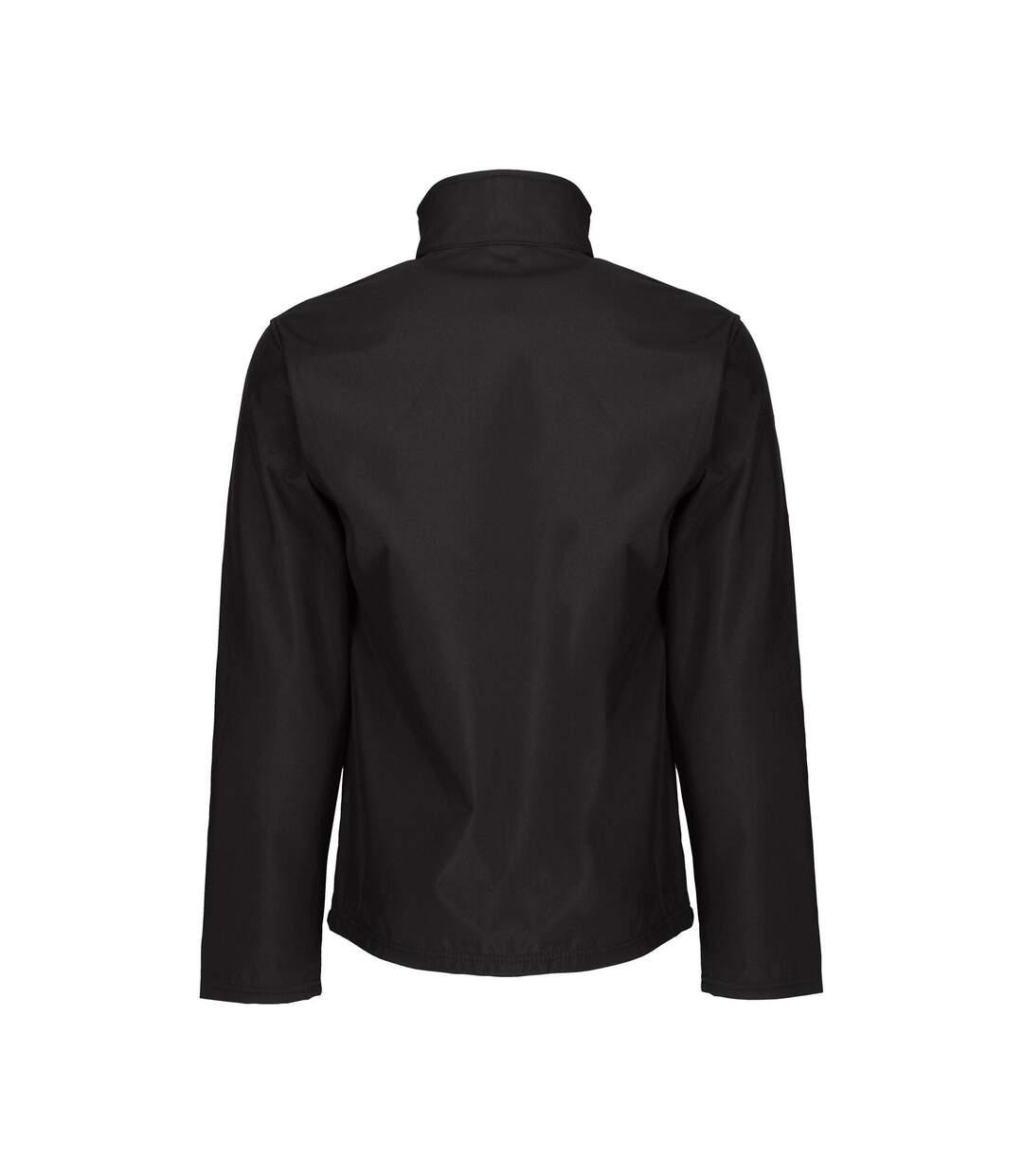 Regatta Professional Mens Octagon II Waterproof Softshell Jacket (Black/Black) - UTRG2164