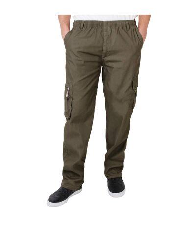 Krisp - Pantalon cargo - Homme (Kaki) - UTKP229