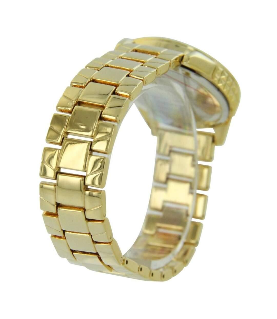 Montre Femme G LUXE bracelet Acier Doré