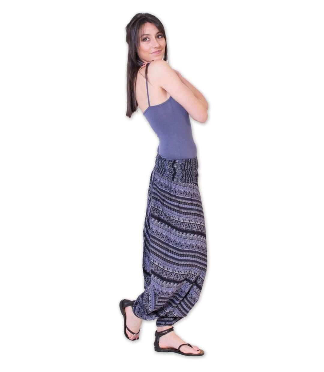 pantalon sarouel flory Coton Du Monde