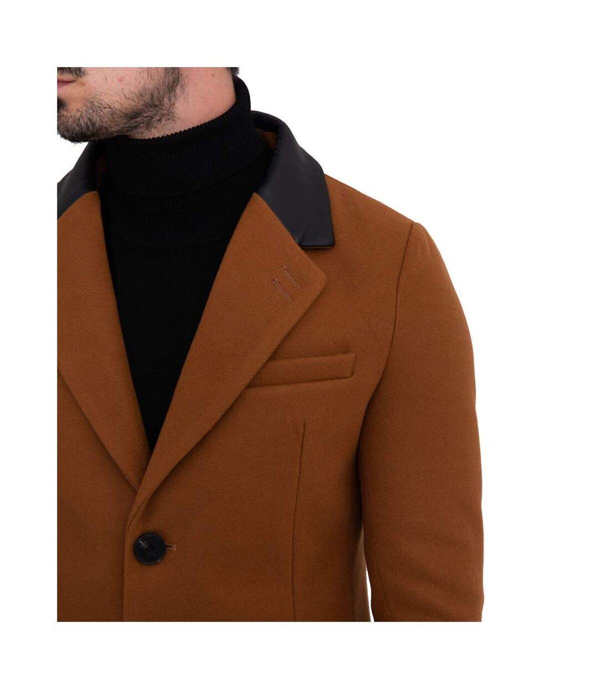 Veste caban fashion homme Veste 2088B-10 marron