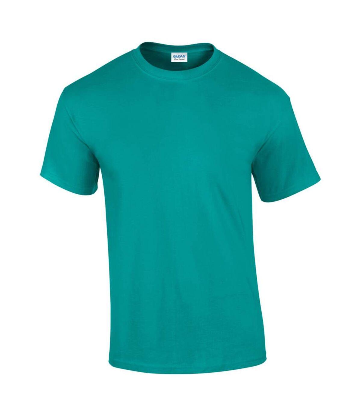 Gildan Mens Ultra Cotton Short Sleeve T-Shirt (Natural) - UTBC475