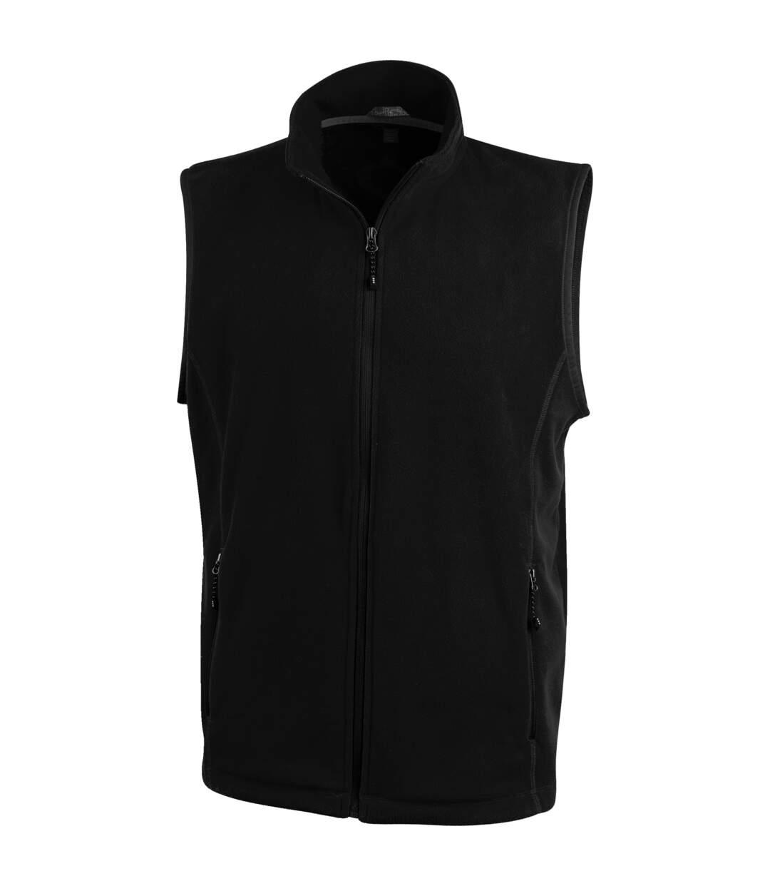 Elevate Mens Tyndall Micro Fleece Bodywarmer (Solid Black) - UTPF1936