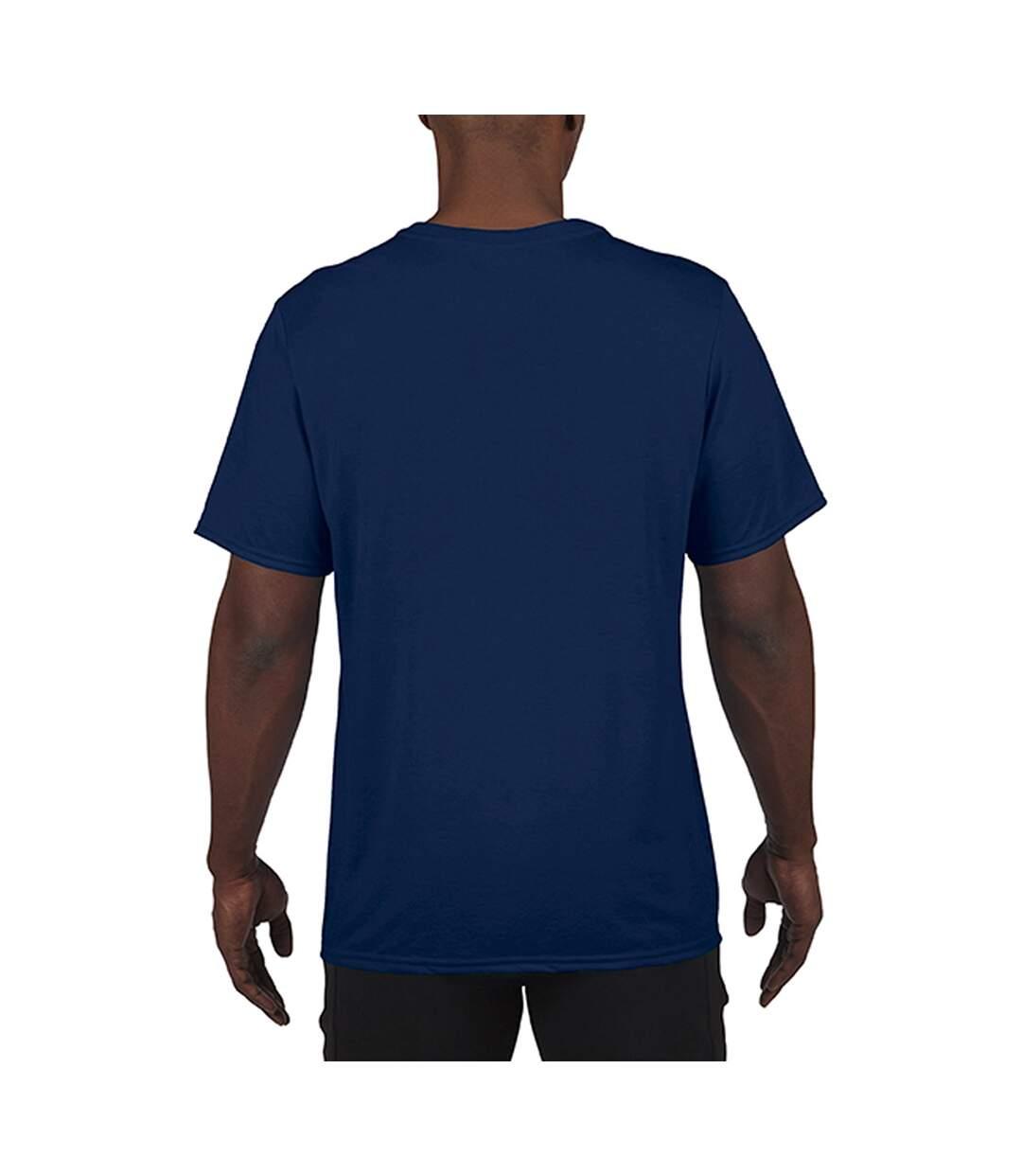 Gildan Mens Core Short Sleeve Moisture Wicking T-Shirt (Sport Dark Navy) - UTBC3715