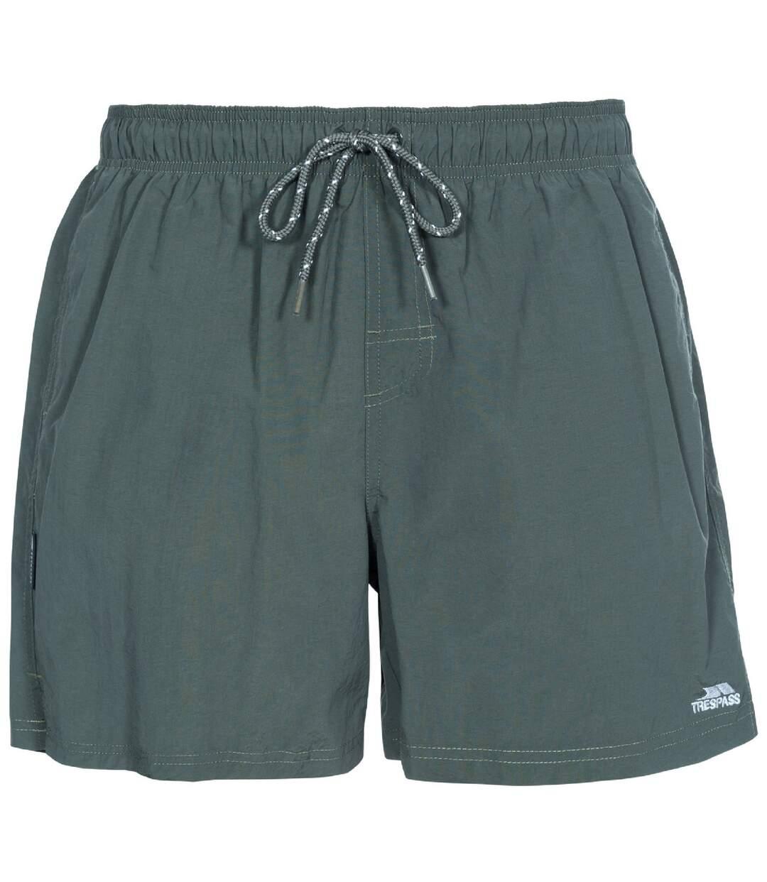 Trespass Mens Luena Swimming Shorts (Olive) - UTTP4058