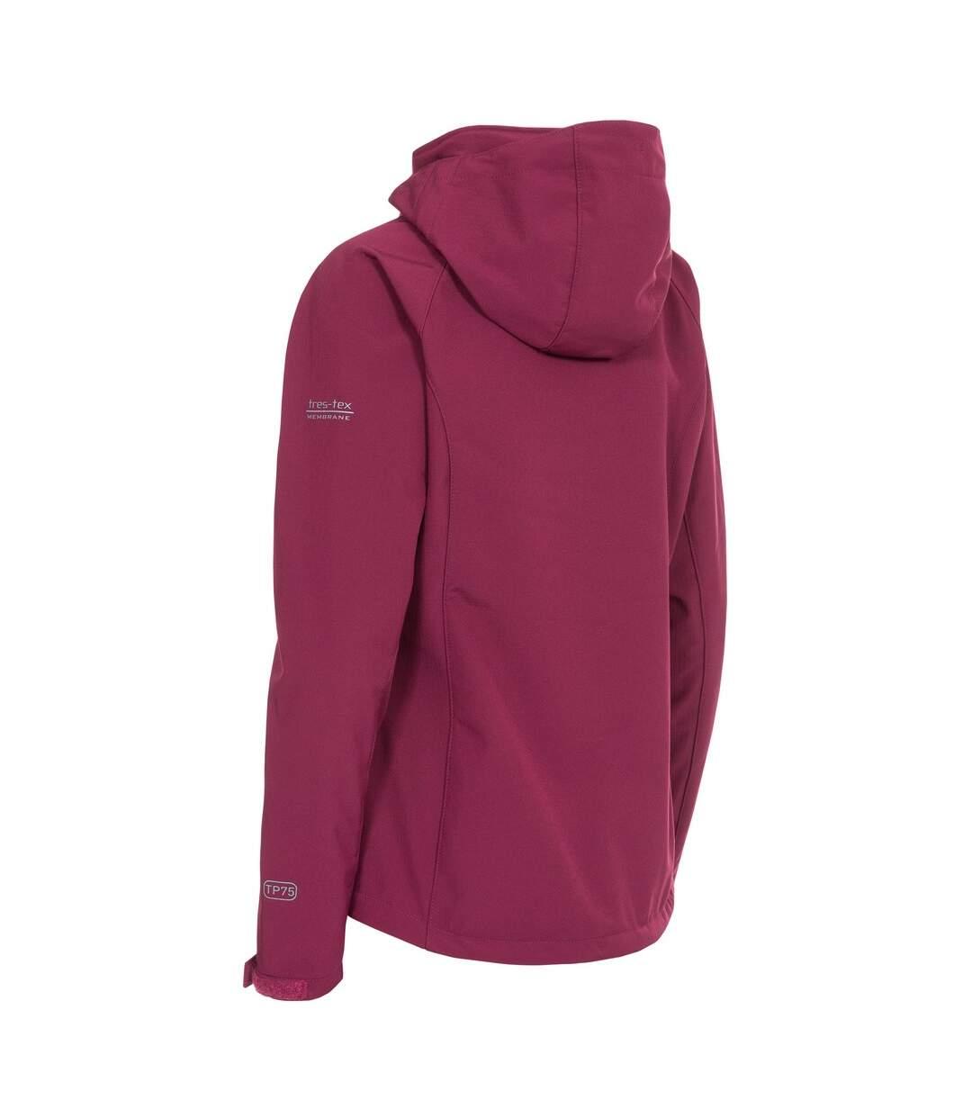 Trespass Womens/Ladies Bela II Waterproof Softshell Jacket (Pink Lady) - UTTP3440
