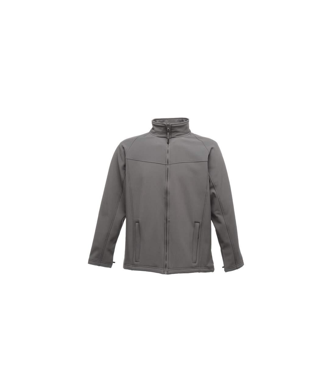 Regatta Uproar Mens Softshell Wind Resistant Fleece Jacket (Classic Red) - UTRG1480
