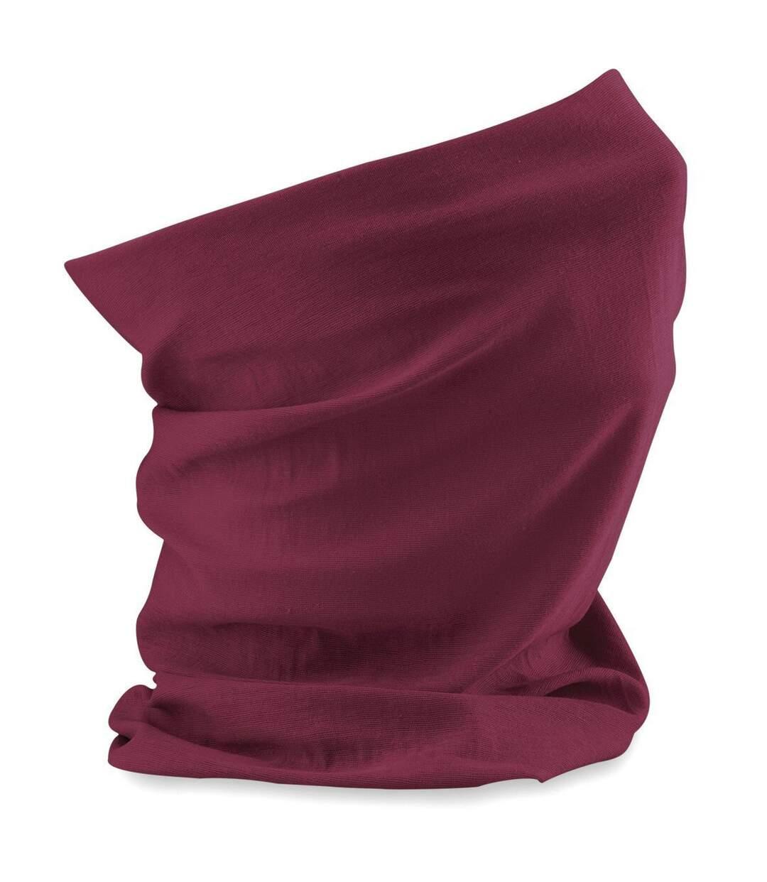 Echarpe tubulaire - tour de cou adulte - B900 - rouge bordeau