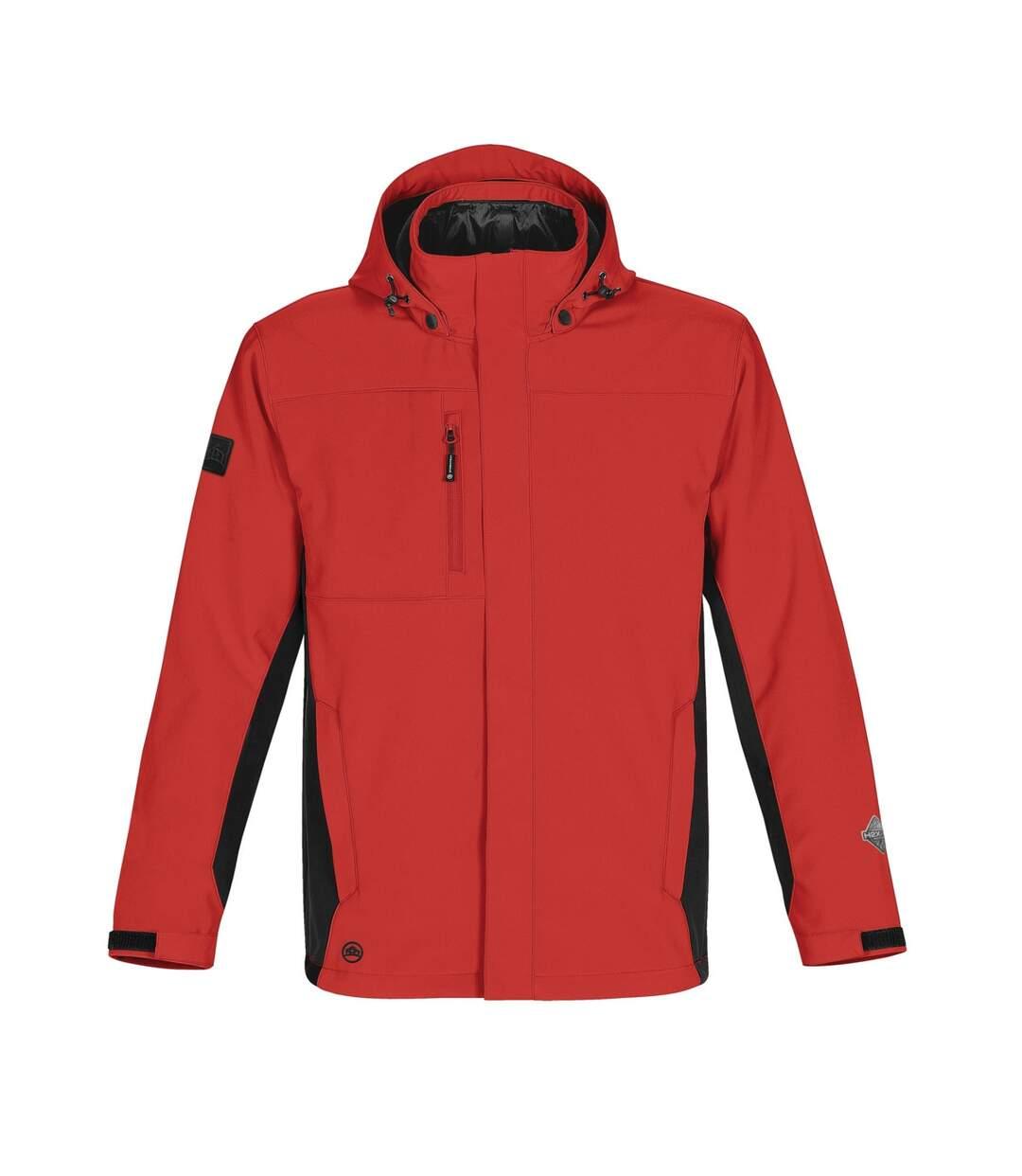 Stormtech Mens Atmosphere 3-in-1 Performance System Jacket (Waterproof & Breathable) (Stadium Red/Black) - UTBC3074