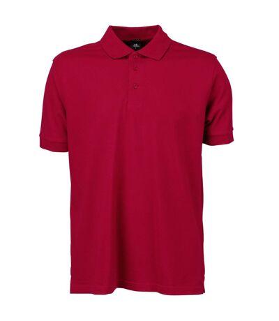 Tee Jays Mens Luxury Stretch Short Sleeve Polo Shirt (Azure Blue) - UTBC3305