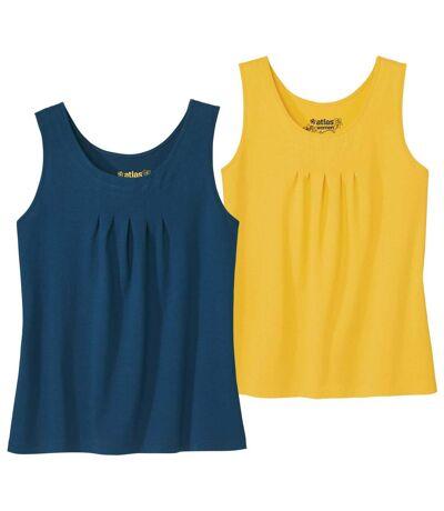 2 darabos, kényelmes egyszínű trikó szett