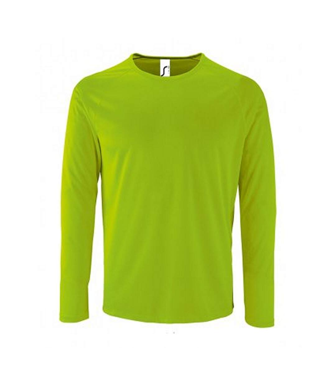 SOLS - T-shirt à manches longues PERFORMANCE - Homme (Vert néon) - UTPC2903