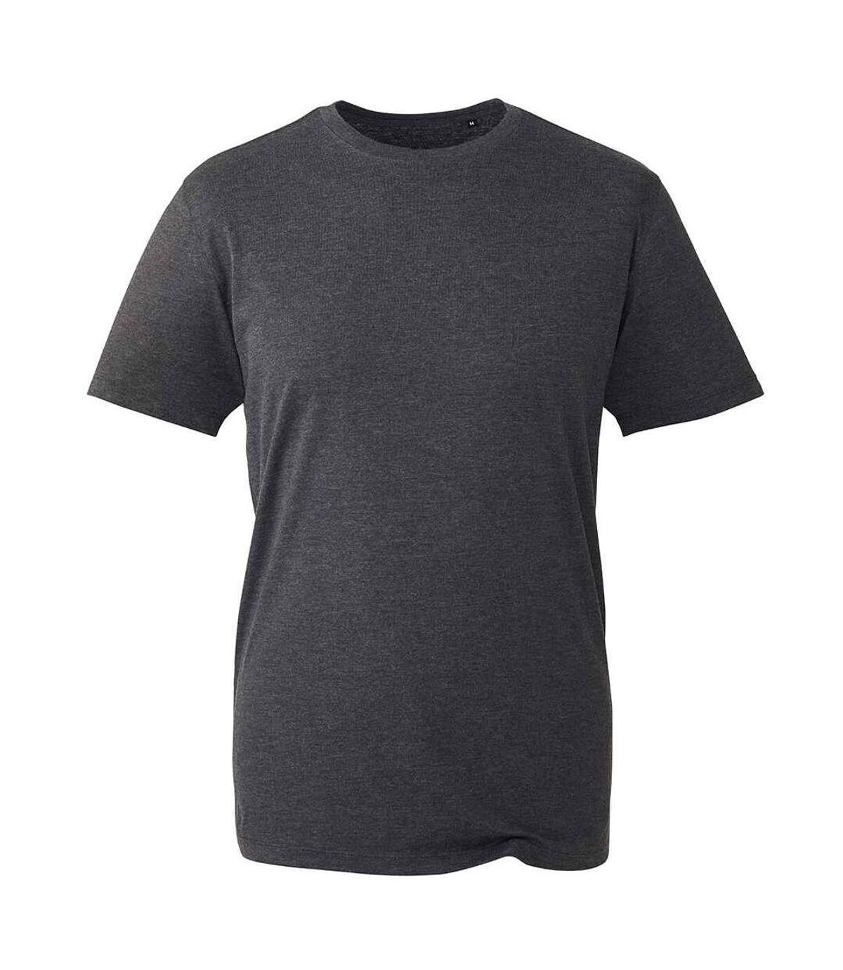 Anthem Mens Marl Organic T-Shirt (Dark Grey) - UTPC4294