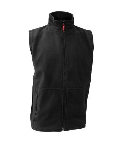 Result Mens Active Anti Pilling Fleece Bodywarmer Jacket (Black) - UTBC923