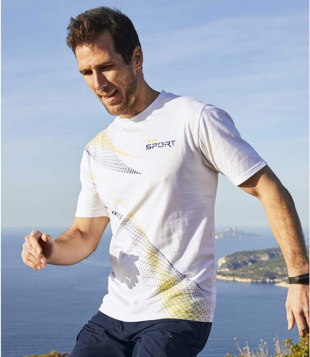 2er-Pack T-Shirts Sport
