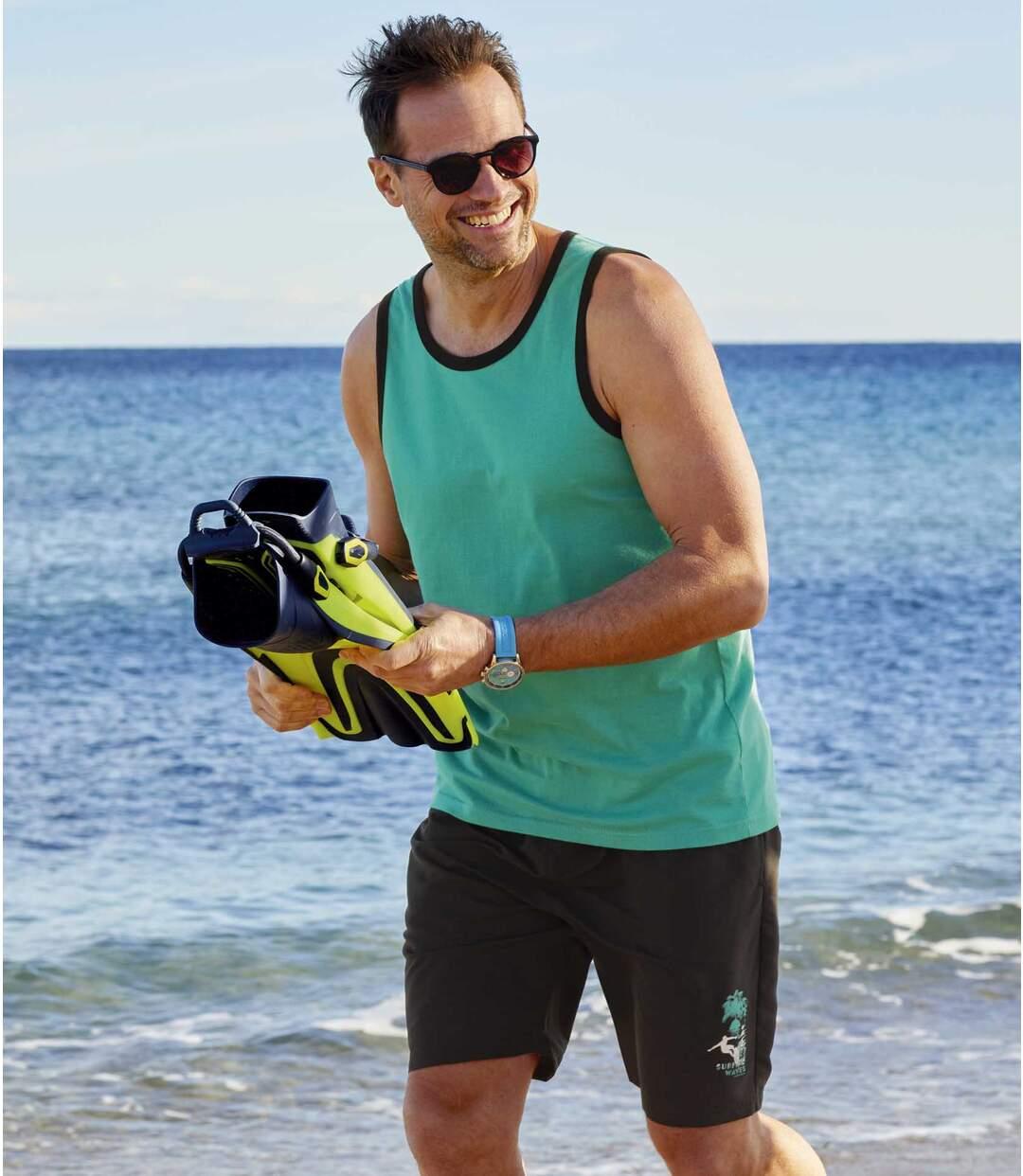 Zestaw 2 par szortów kąpielowych Surf Atlas For Men