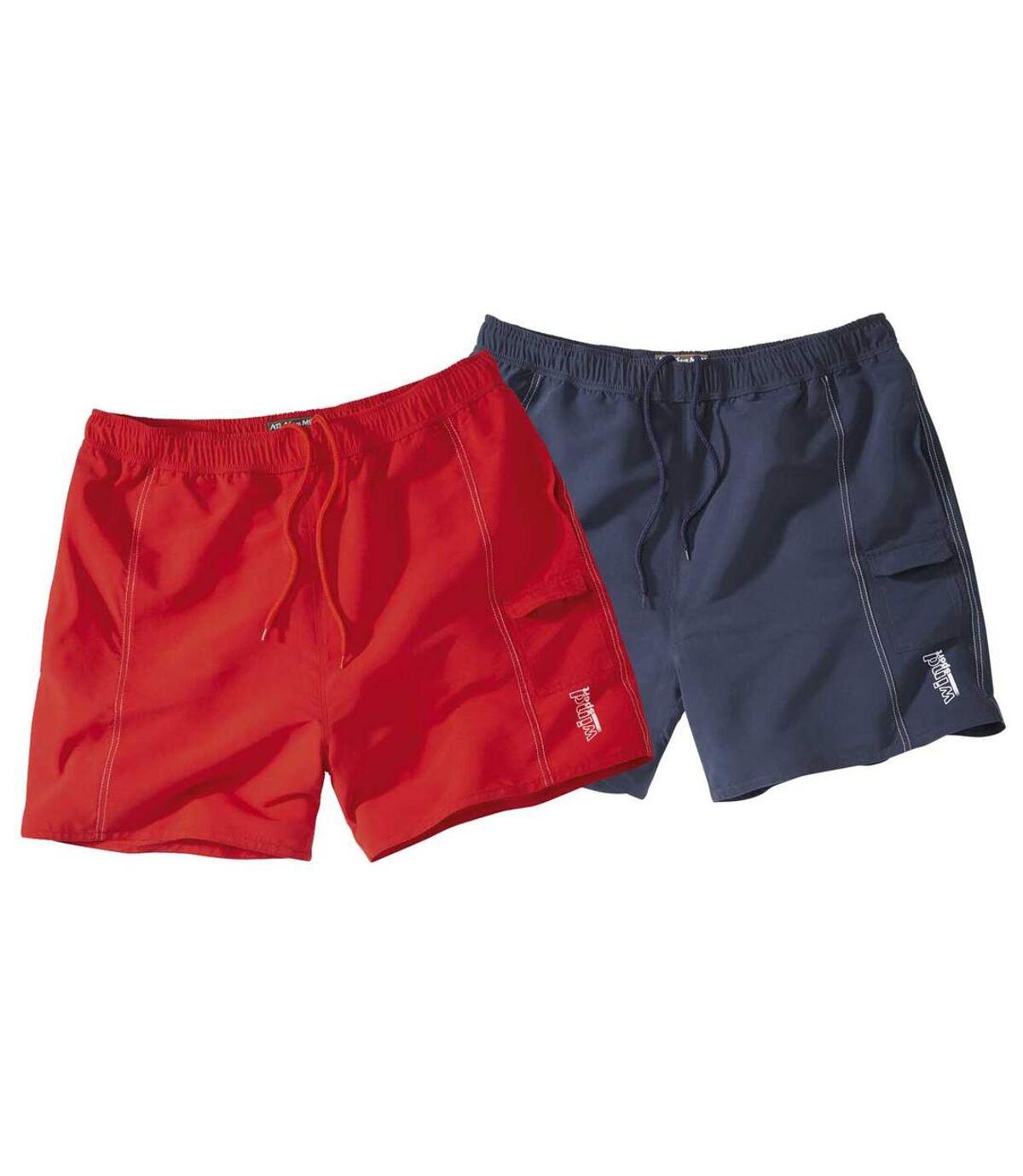 2er-Pack Sommer-Shorts Atlas For Men
