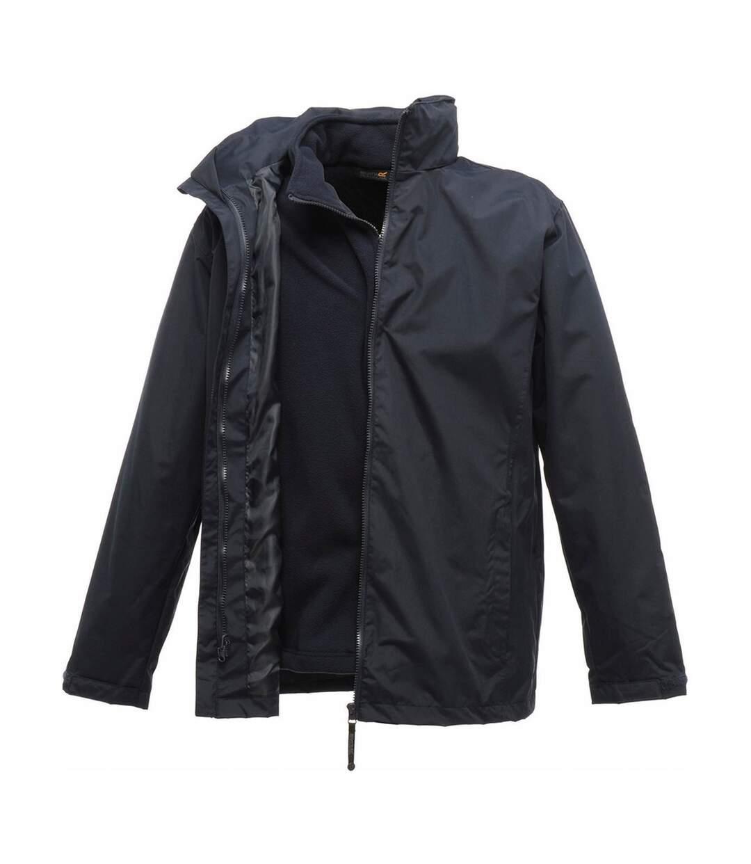 Parka veste imperméable 3 en 1 homme TRA150 - bleu marine