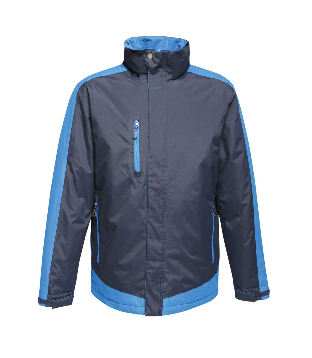 Regatta Mens Contrast Full Zip Jacket (Signal Black/Signal Grey) - UTRG3743