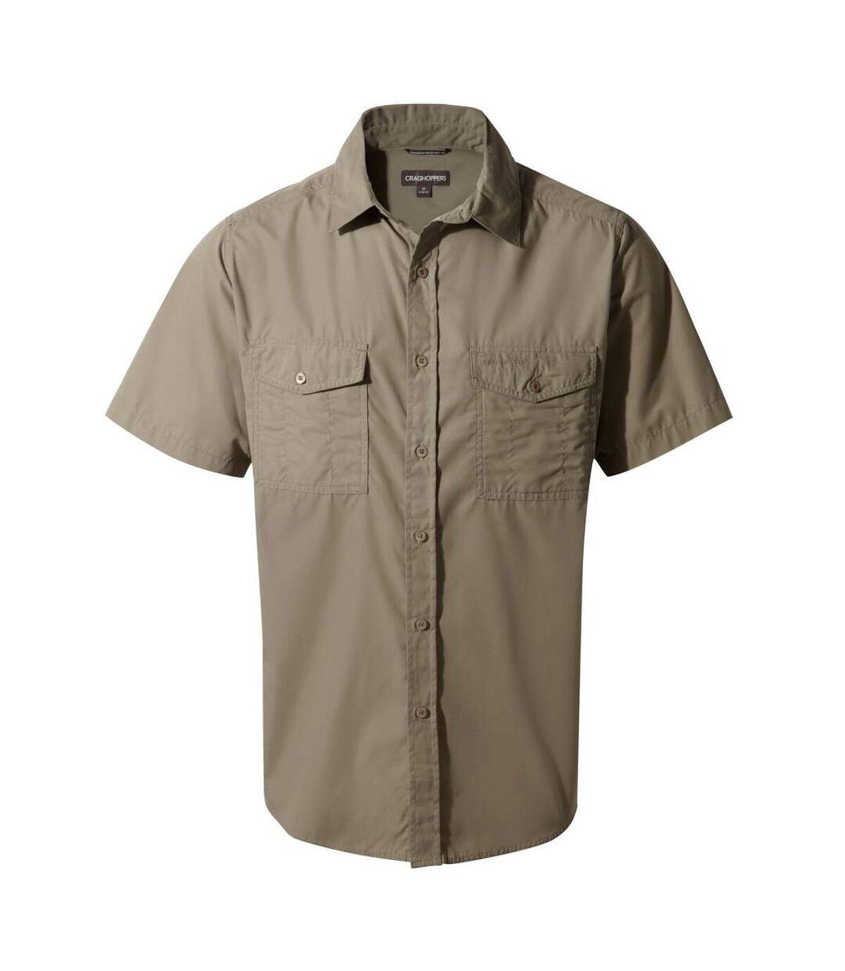 Craghoppers Outdoor Classic Mens Kiwi Short Sleeve Shirt (Cedar) - UTCG181