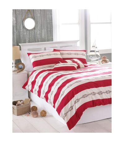 Riva Home - Parure de lit (Rouge) - UTRV752