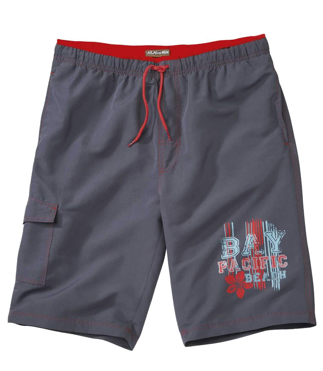 Men's Grey Honolulu Bermuda Shorts