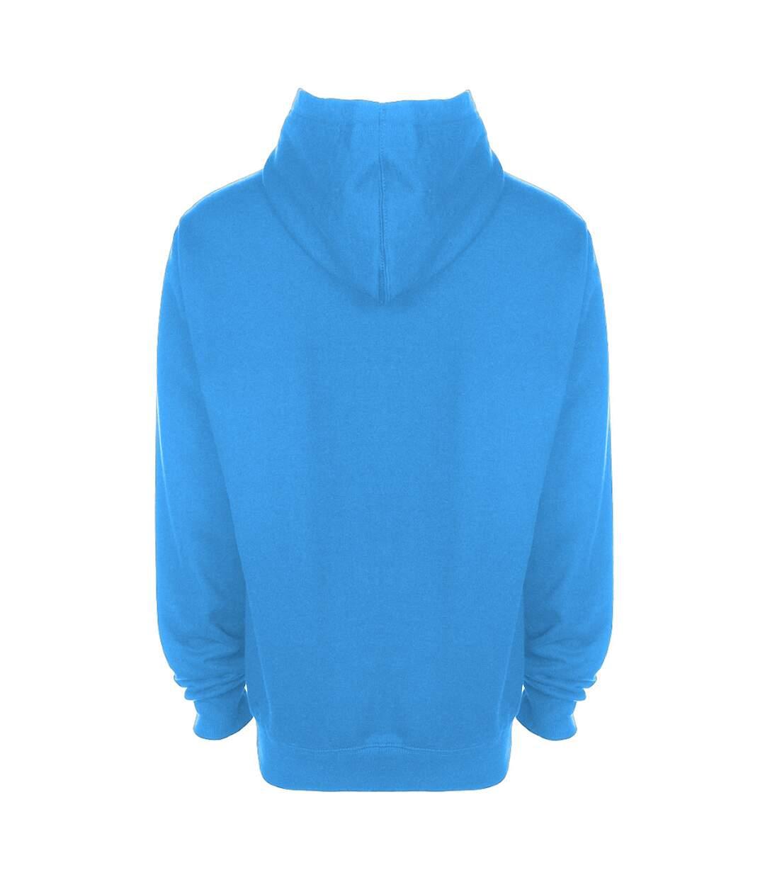 FDM Unisex Tagless Hooded Sweatshirt / Hoodie (Ash) - UTBC2031