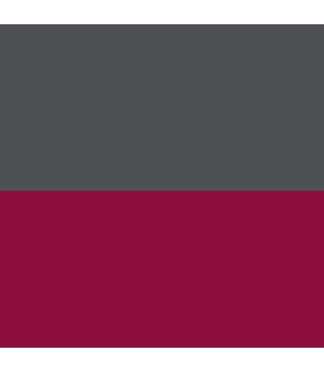 Awdis Mens Varsity Hooded Sweatshirt / Hoodie / Zoodie (Burgundy/ Charcoal) - UTRW182