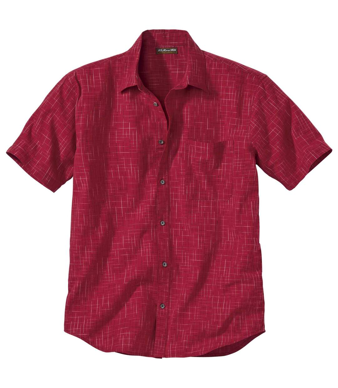 Fantazyjna popelinowa koszula