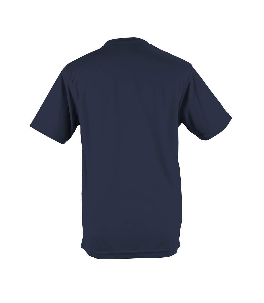 AWDis Just Cool Mens Performance Plain T-Shirt (Plum) - UTRW683