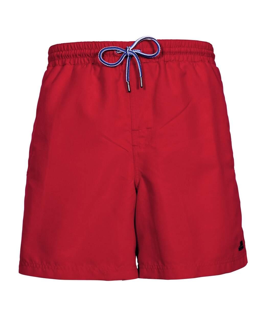 Trespass Mens Granvin Casual Shorts (Red) - UTTP3326