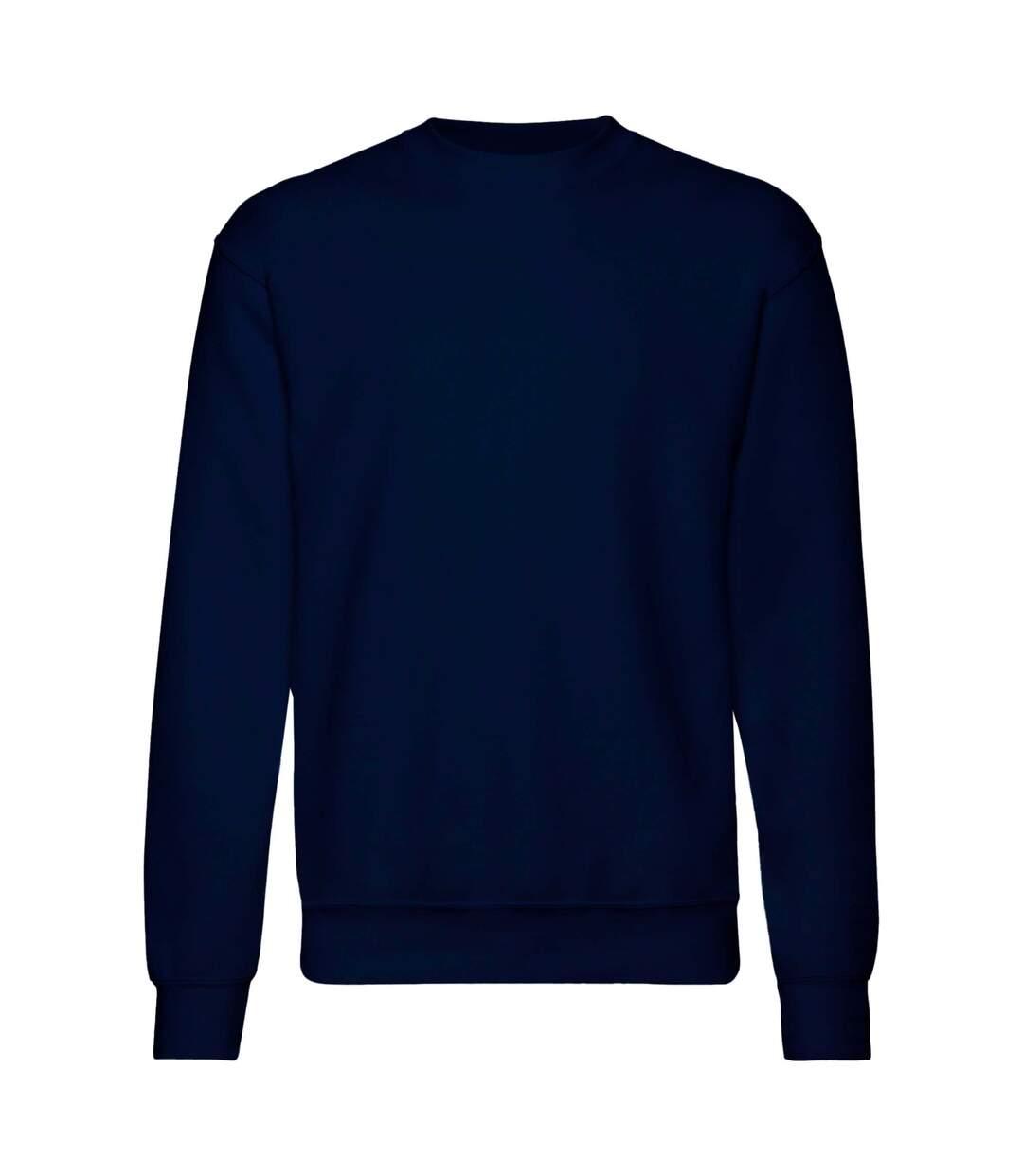 Fruit Of The Loom Mens Set-In Belcoro® Yarn Sweatshirt (Deep Navy) - UTBC365