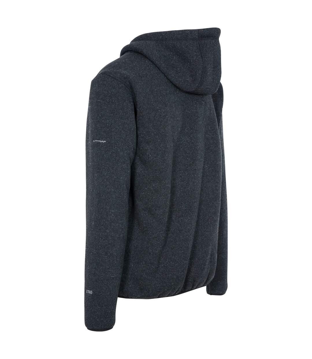 Trespass Mens Tableypipe Fleece Jacket (Black Marl) - UTTP4758