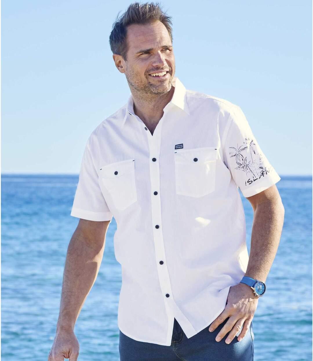 Košeľa Tropické pobrežie Atlas For Men