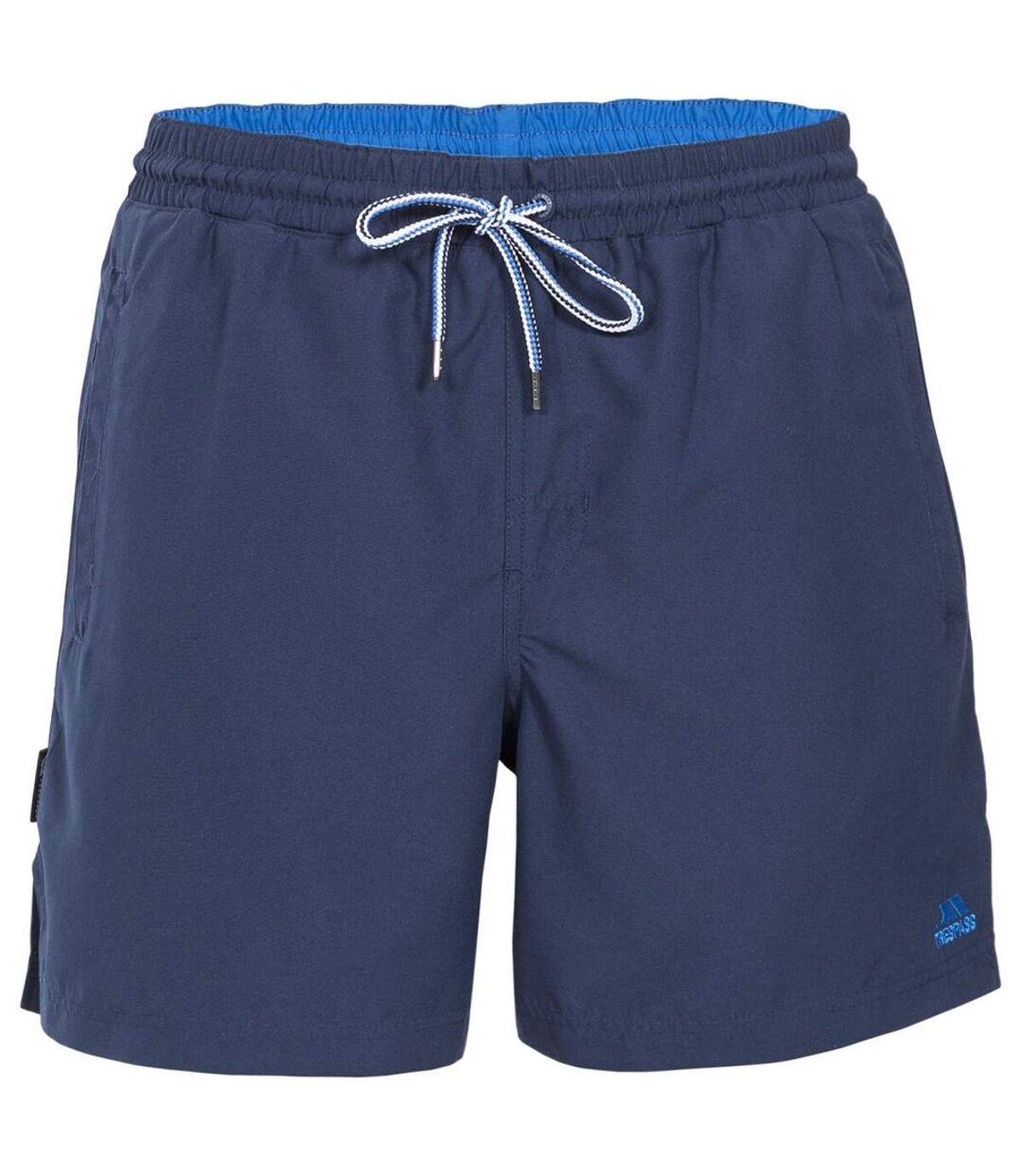 Trespass Mens Granvin Casual Shorts (Navy) - UTTP3326