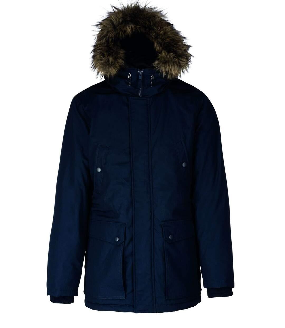 Parka pour grand froid - homme - K621 - bleu marine