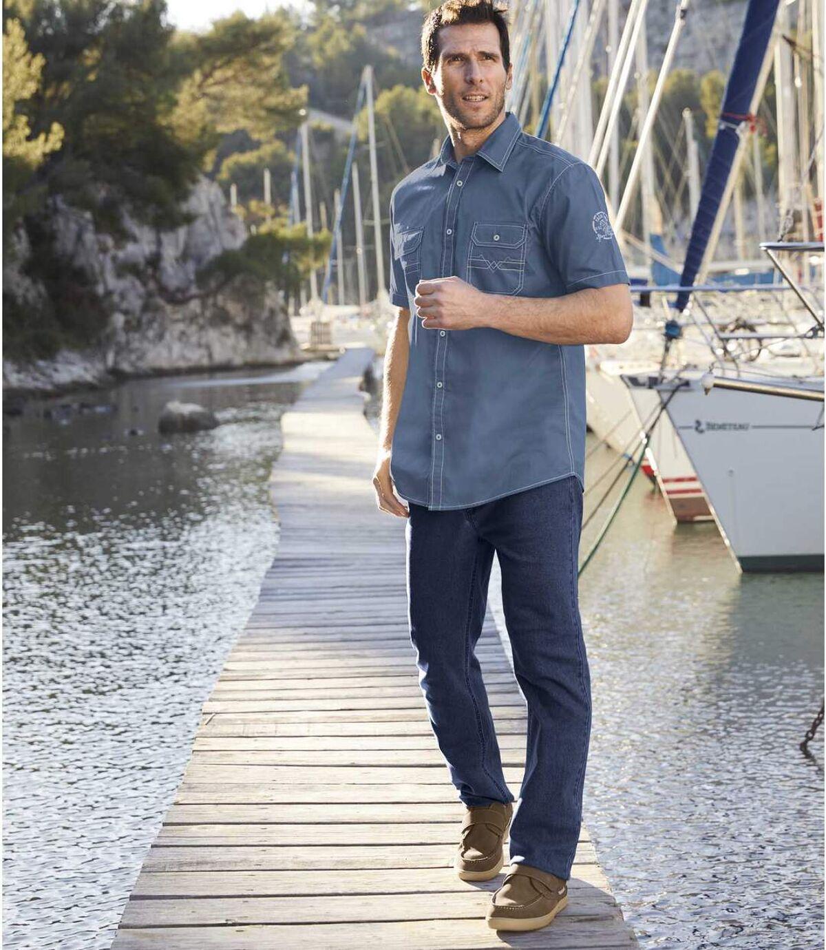 Freizeit-Schuhe im Boots-Look mit Klettlaschen Atlas For Men