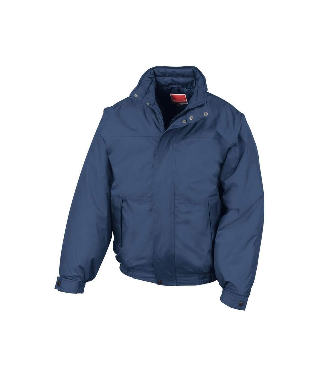 Result Mens Shoreline Mid-Weight Waterproof Windproof Blouson Jackets (Navy Blue) - UTBC846