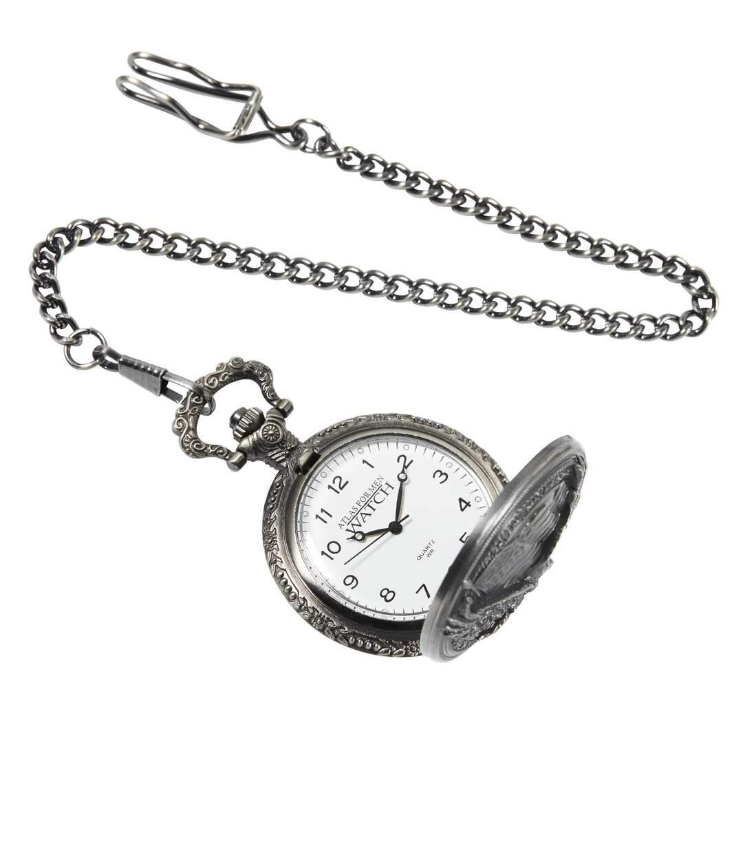 Men's Pocket Watch - Wild Eagle