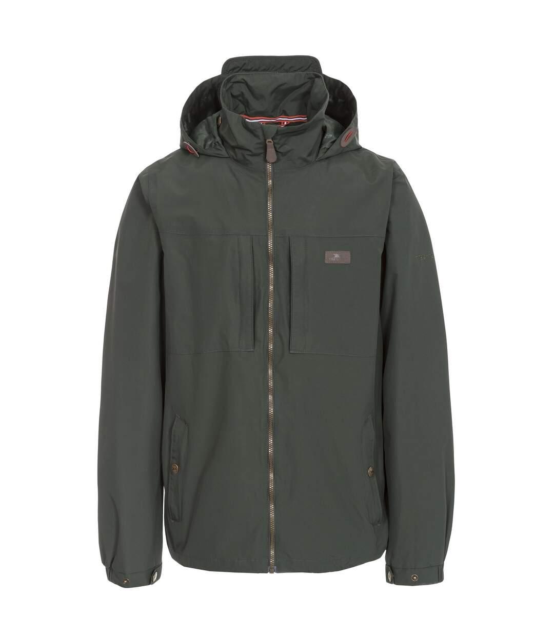 Trespass Mens Cartwright Waterproof Jacket (Olive) - UTTP4117