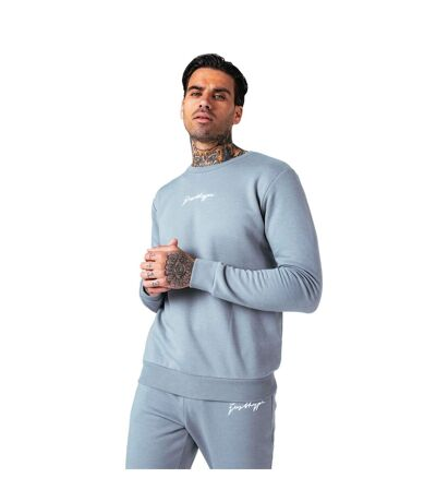 Hype Sweat-shirt Scribble pour hommes (Gris ardoise) - UTHY4525