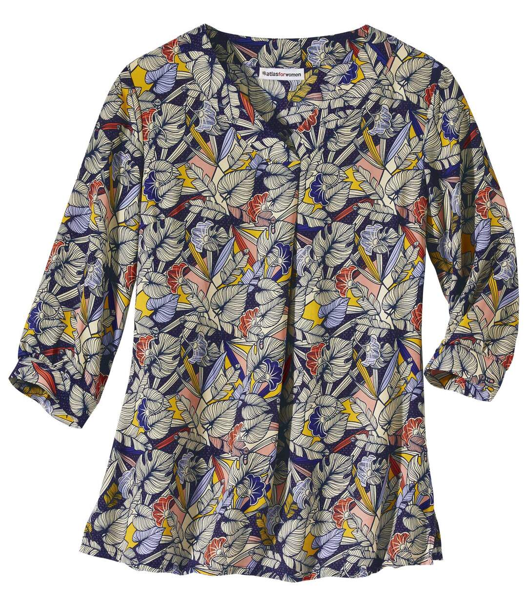 Lejąca bluzka z nadrukiem Atlas For Men
