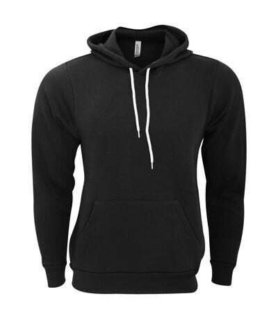 Bella + Canvas - Sweatshirt polaire à capuche - Unisexe (Noir) - UTBC1336